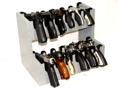 12 Gun Double Level Greystone Custom Gun Racks